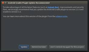 how to update android how to update gradle plugin in android studio devdeeds