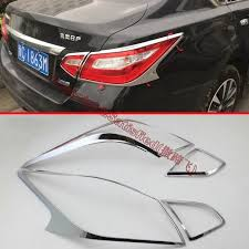 nissan altima tail light cover abs chrome tail light cover trim for nissan altima 2016 2017 in