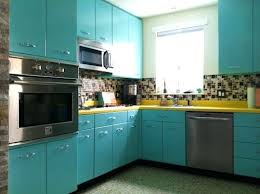 Antique Metal Kitchen Cabinets Retro Metal Kitchen Cabinets Cleaning Old Metal Kitchen Cabinets