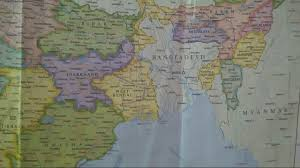 North India Map by Indian Map North India Youtube