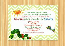very hungry caterpillar baby shower invitation wording u2022 baby showers