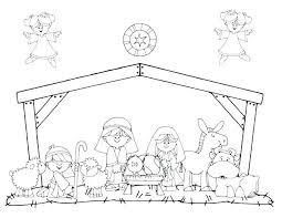 printable coloring pages nativity scenes nativity scene coloring page coloring pages nativity marvelous