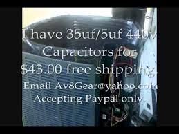 trane condenser fan motor replacement ac problem repair trane xr13 fan motor capacitor trouble shoot