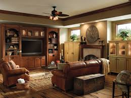 Interesting Traditional Family Room Ideas With Wood Floor Putting - Traditional family room