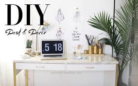 ikea marble desk hack u0026 easy office organizational diys u2013 ann le style