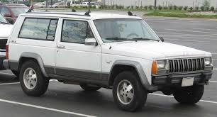 white jeep 2 door file 84 96 jeep cherokee 2door jpg wikimedia commons