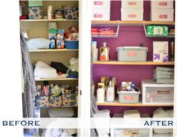 Bathroom Closet Storage by Iheart Organizing Reader Space Organized Closet Of The Year