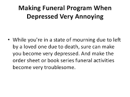 Make Funeral Programs Free Printable Funeral Program Template For Word To Download