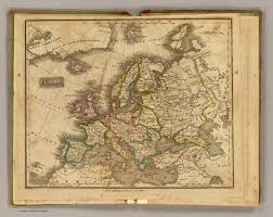 Historical Maps Of Europe by Europe David Rumsey Historical Map Collection