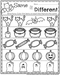 october preschool worksheets worksheets october and