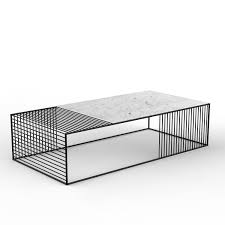 Wire Coffee Table Wire Coffee Table Large Rectangle Iacoli Mcallister