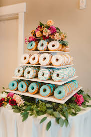donut wedding cake sleepy ridge weddings utah venue garden