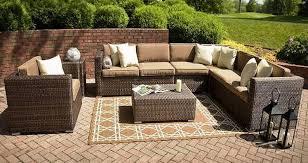 wicker patio furniture sets furniture refreshing resin wicker patio furniture edmonton