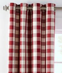 Drapes Grommet Top Buffalo Check Grommet Top Curtains Country Curtains