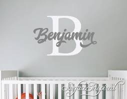 Personalized Wall Decals For Nursery Wall Decals Nursery Wall Decals Tree Wall Decals Name Wall Decal