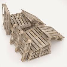 european wood pallet 3d model cgtrader