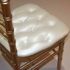 chair rental mn chair pad ivory tufted linen effects party event wedding gala