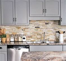 brown kitchen cabinets with backsplash backsplash and countertop ideas for grey shaker cabinets