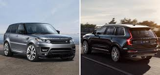 land rover suv sport 2017 range rover sport tdv6 hse vs 2017 volvo xc90 red plum