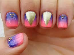 dahlia nails oh those summer nights