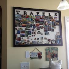 souvenir magnet display board