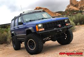 jeep cherokee lights installing a rigid industries e series led light bar off road com
