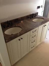 Bathroom Vanity Houzz by Master Bathroom Vanity We Went With A Cream Colored Cabinet And A