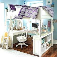 Bunk Bed Desk Underneath Loft Bed With Desk Plans Bunk Bed With Desk Plans Loft Beds Plan