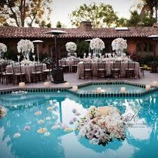 Summer Backyard Wedding Ideas 298 Best Poolside Wedding Images On Pinterest Floating Pool
