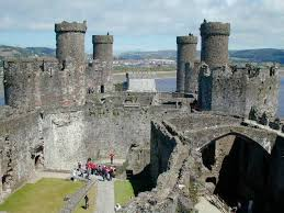 Old Castle Curtain Wall Conwy Castle The Most Famous Welsh Castle Still Standing Today