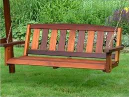 amazing wooden family porch swing bench with frame best adirondack