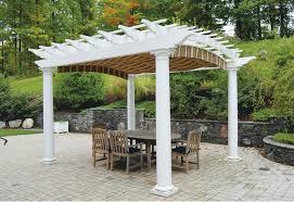 How To Build A Pergola by Pergolas U0026 Shade Canopies Pvc Pergola Kits Azek