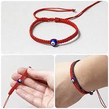 eye bracelet jewelry images Red kabbalah bracelet macrame bracelet evil eye bracelet jpg