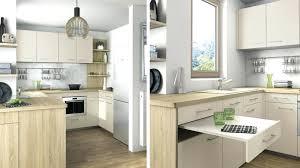 cuisine fonctionnelle plan petites cuisines modernes une cuisine ouverte au look