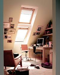 Make Your Office More Inviting Attic Office Designed For A Attic Ceilings And Window