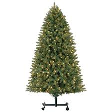 9 ft pre lit grand spruce grow stow set artificial
