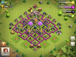 clash of clans town hall level 7 defence base design 1 all type