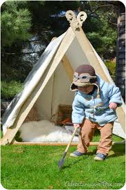 Tent In Backyard by How To Make A Viking Backyard Play Tent
