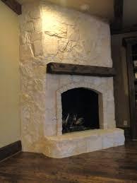 white stone fireplace binhminh decoration