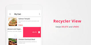 android undo android adding recyclerview swipe to delete and undo