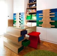 designs ideas unique kids room with unique study desk feat red
