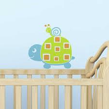 stickers garcon chambre sticker chambre bébé garçon tortue escargot baby