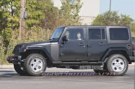 grey jeep rubicon 2018 jeep wrangler unlimited leaked motor trend