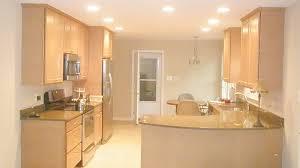 modern galley kitchens modern galley kitchen design using polished concrete kitchen photo