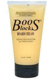 boos board cream butcher block moisturizing cream
