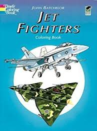 airplanes war coloring book dover history