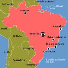 city map of brazil political organization brazil