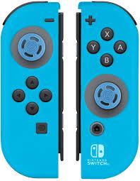amazon mario cart deluxe black friday 2017 amazon com nintendo switch joy con gel guards blue video games