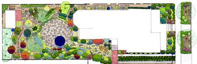 designs for a small garden lovely part cottage design plans idolza