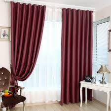 Burgundy Living Room by Burgundy Curtains Living Room Bjhryz Com